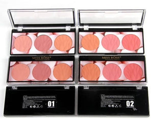 Miss rose 3 color blush