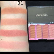 Load image into Gallery viewer, Original Miss Rose Bronzers 4 Color  Highlighters Palette