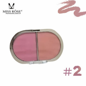 Miss Rose 2 in 1 Blusher In Gold Packing