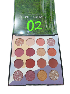 Miss Rose 16 Colour Eyeshadow Palette