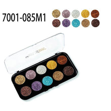 Load image into Gallery viewer, MISS ROSE 10 Colors Glitter Eyeshadow Palette