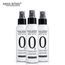 Load image into Gallery viewer, MISS ROSE O2 Mist & Fix Setting Spray