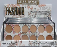 Load image into Gallery viewer, Miss Rose 12 Colors Concealer Palette