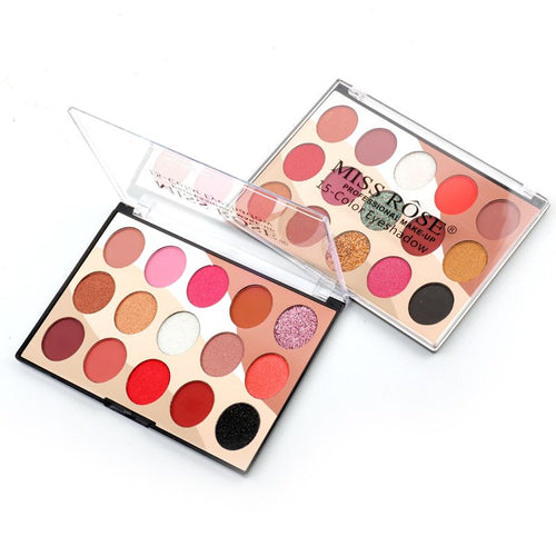 Miss Rose 15 Colours Eyeshadows Kit