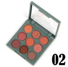 Load image into Gallery viewer, Miss Rose 9 Colour Eyeshadow Kit