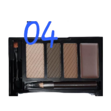 Load image into Gallery viewer, Miss Rose Professional 4 color eyebrow kit