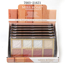 Load image into Gallery viewer, Miss Rose Highlighter & Blush Kit
