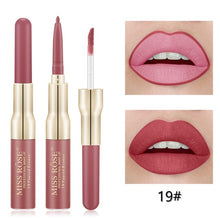 Load image into Gallery viewer, Miss Rose Matte lip gloss + liner 2 in 1