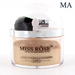 MISS ROSE makeup illuminator Loose Powder