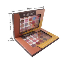 Load image into Gallery viewer, MISS ROSE 35 Color Fashion Eyeshadow Palette Matte EyeShadow Palette Glitter