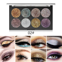 Load image into Gallery viewer, Miss Rose Makeup Palette 8 Color Glitter