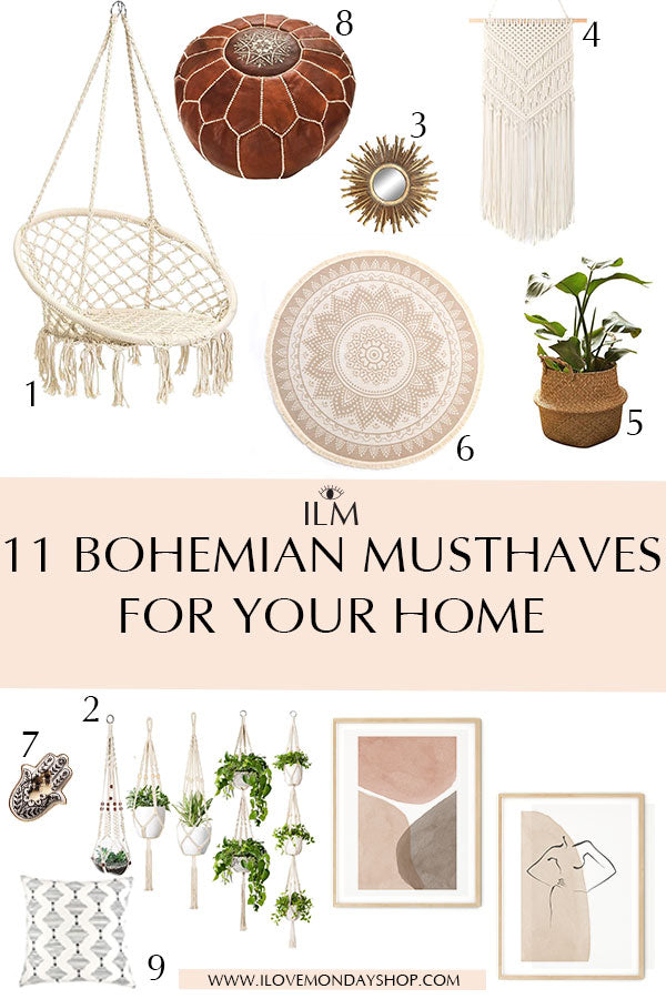 The Most Beautiful Boho Interior for your Home