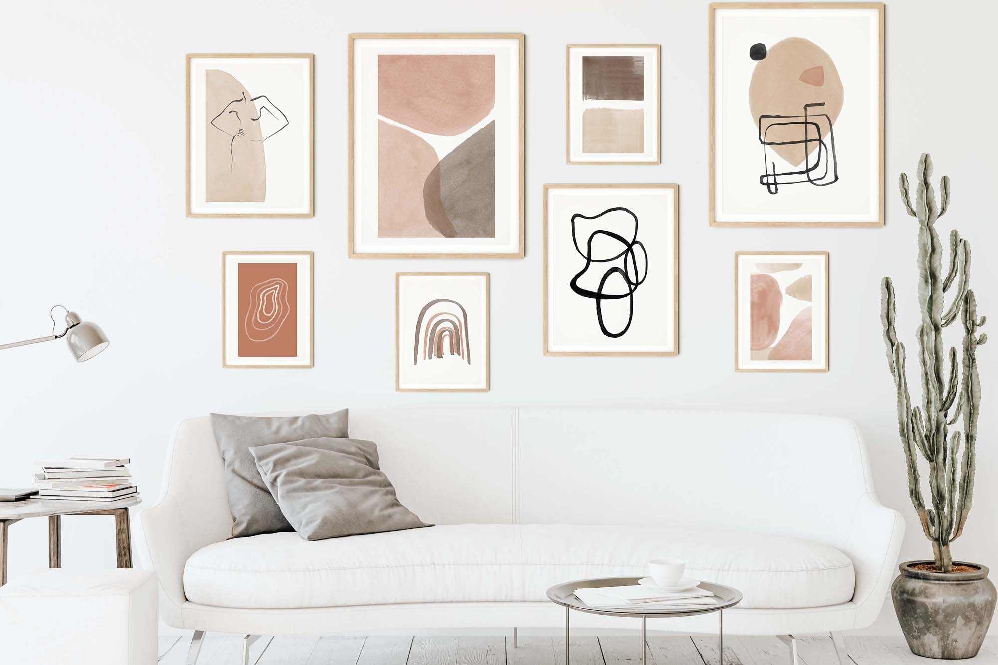 HOW TO CREATE A BOHO GALLERY WALL