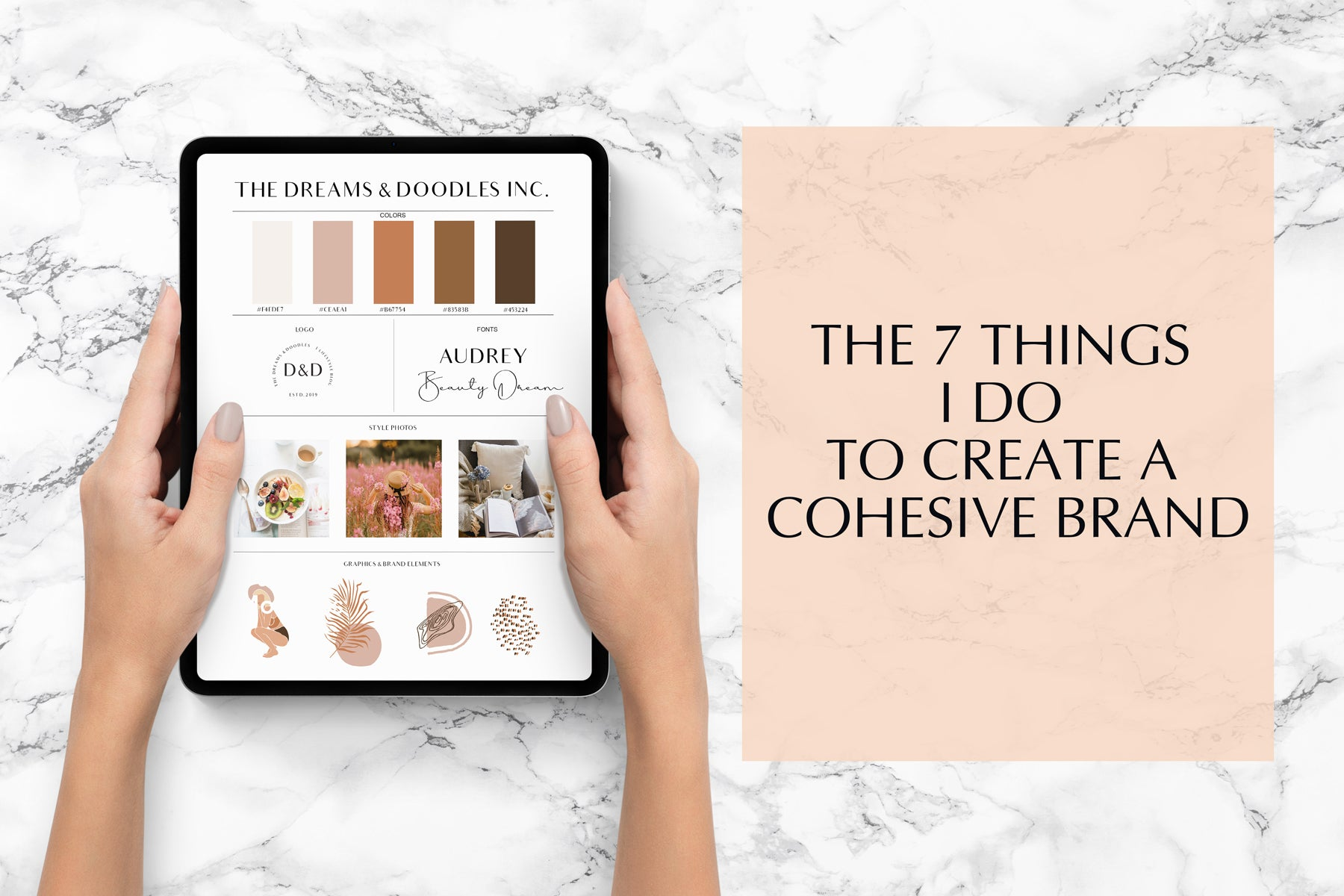 HOW TO MAKE YOUR BRAND LOOK COHESIVE