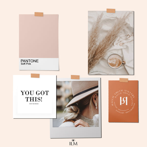 MOODBOARD & COLOR CARD FOR INSTAGRAM & PINTEREST