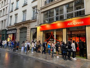 3 jours au pop-up store AliExpress à Paris