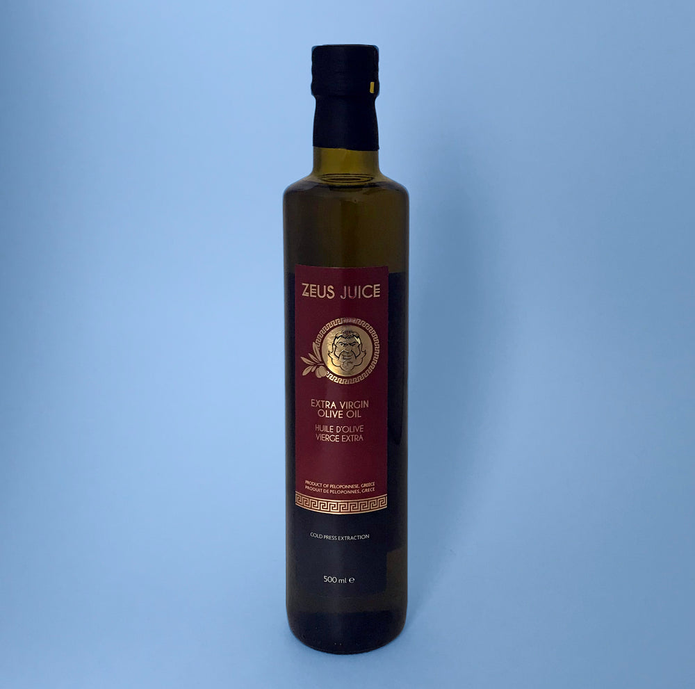 Zeus Juice Extra Virgin Olive Oil 500ml Bottle