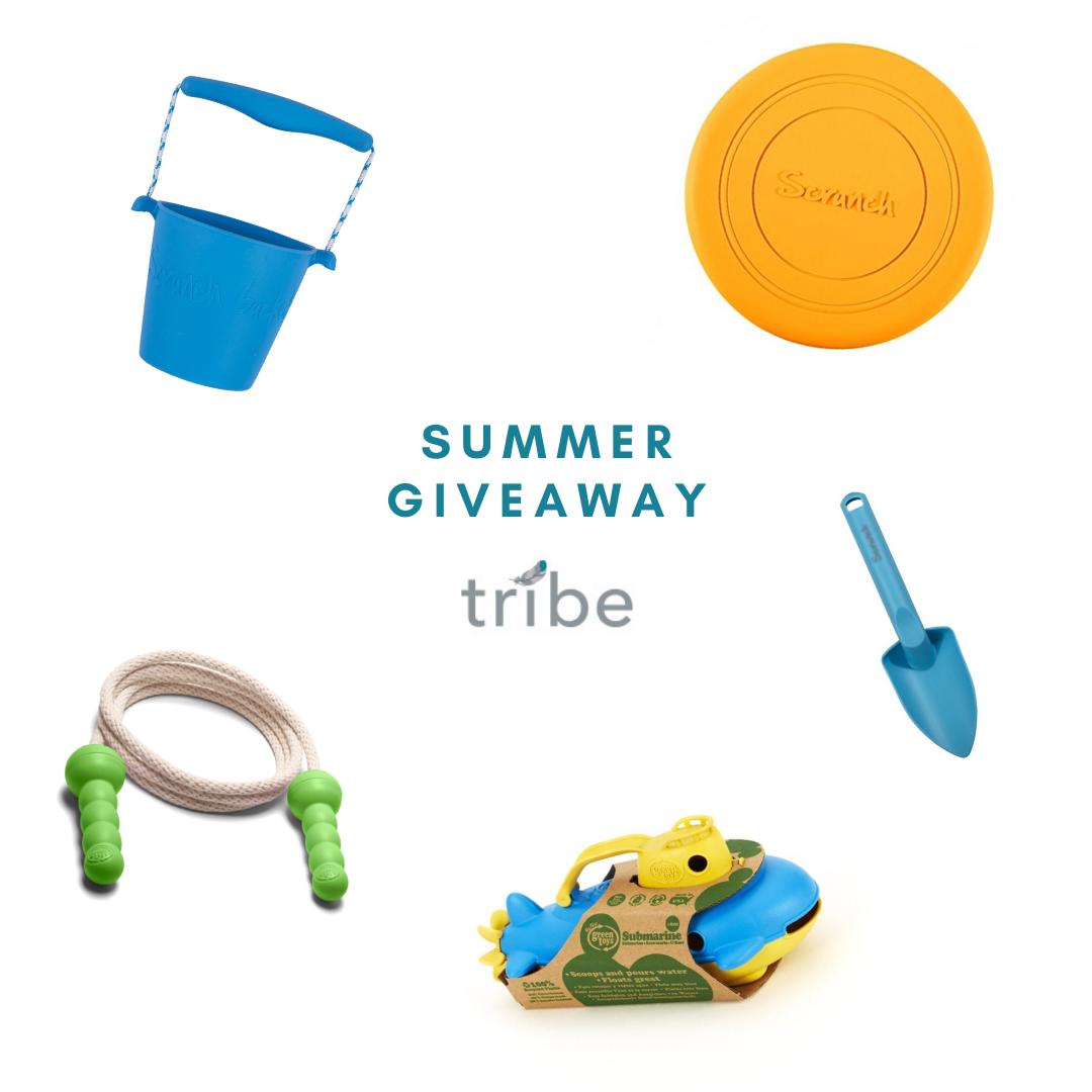 Tribe's July Summer Giveaway Toy Set
