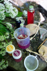 Image of contents of the portable potion making kit