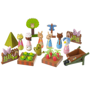 Peter Rabbit Wooden playset