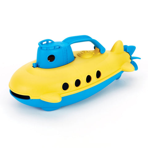 Recycled Submarine from My First Green Toys