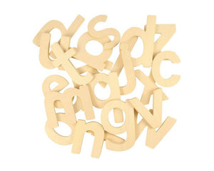 Bigjigs Toys Wooden Lowercase ABC Letter Templates