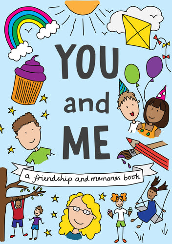 You and Me Friendship and Memories hardback keepsake book