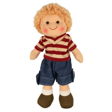 Soft Doll Harry (28cm) from Bigjigs Toys