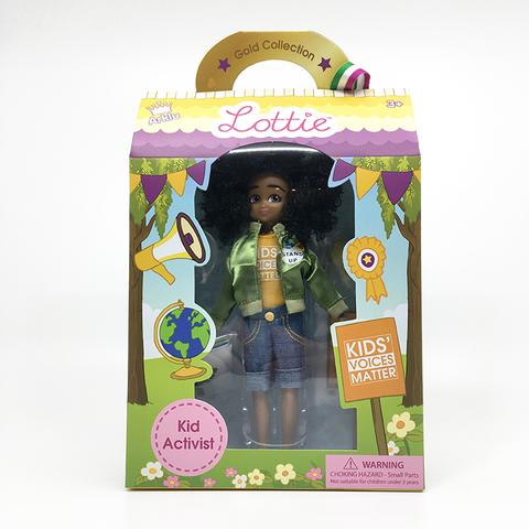 Lottie Dolls are presented in a lovely gift box with handle.