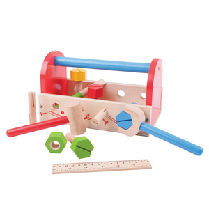 Bigjigs Toys Wooden Tool Kit