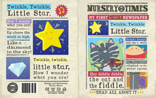 Load image into Gallery viewer, Nursery Times Crinkly Newspaper - Hey Diddle Diddle