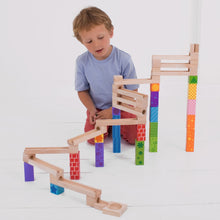 Load image into Gallery viewer, Bigjigs Toys Amazing Wooden Marble Run