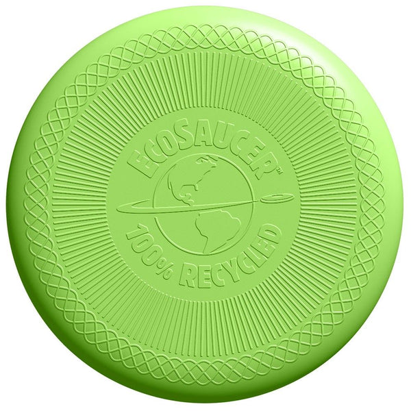 Have lots of fun outdoors with this Eco Saucer Flying Disc from Green Toys
