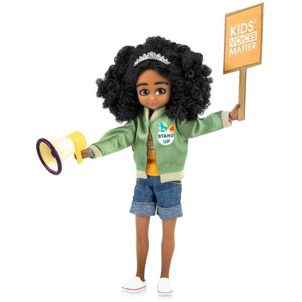 Inspired by reallife Mary Copeny this Lottie Doll fights for what she believes in