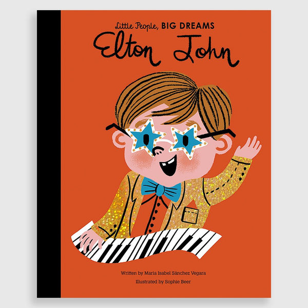 Little People Big Dreams Book - Elton John