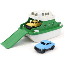 Load image into Gallery viewer, Perfect for land and water adventures this ferry boat has two cars that can travel in and off the ferry.