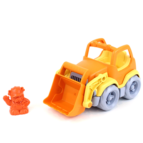 Brilliant little scooper with cute driver made from recyled plastic