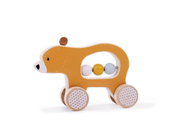 Push Along Bear from Bigjigs