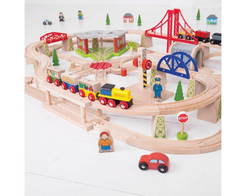 Freight Train Set from Bigjigs