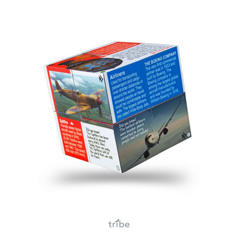 Innovation in Aviation Facts Cube Book