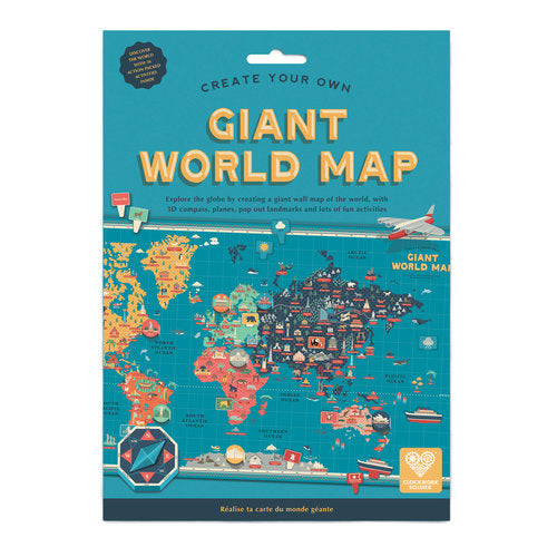 Giant World Map from Clockwork Soldier