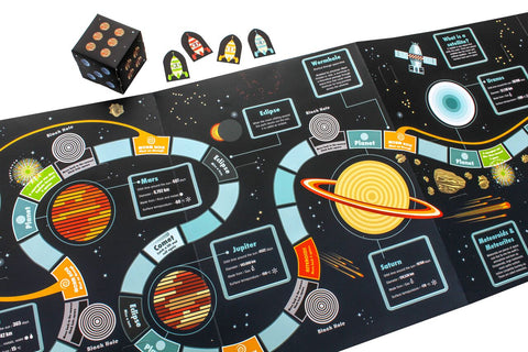 This is the side which is a board game