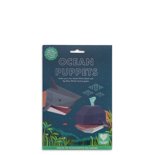 Create Your Own Ocean Puppets from Clockwork Soldier