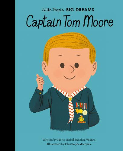 Little People Big Dreams Book -  Captain Tom Moore