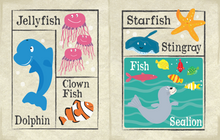 Load image into Gallery viewer, Nursery Times Crinkly Newspaper - Under The Sea