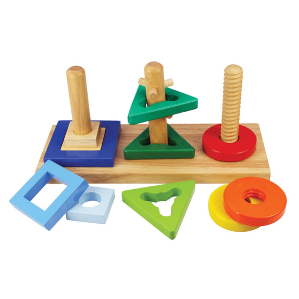 Bigjigs Wooden Twist and Turn Puzzle