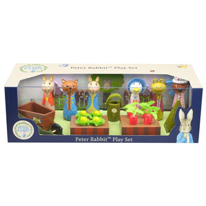 Peter Rabbit Wooden Playset in presentation box.