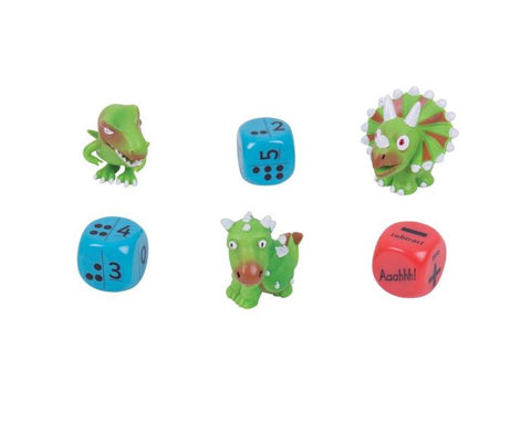 ZooBooKoo Dino Dice Mental Arithmetic Game - Level 1