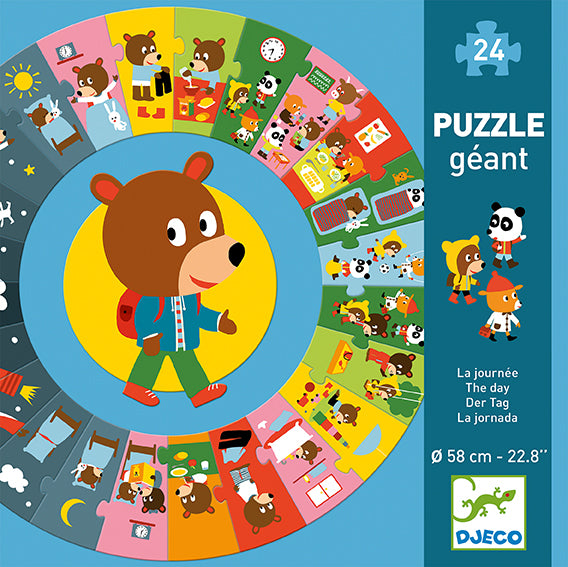 The Day Jigsaw Puzzle from Djeco