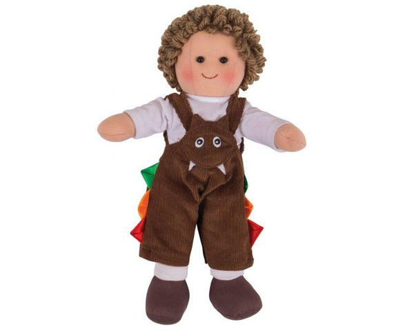 Soft Doll Jack (28cm) by Bigjigs Toys